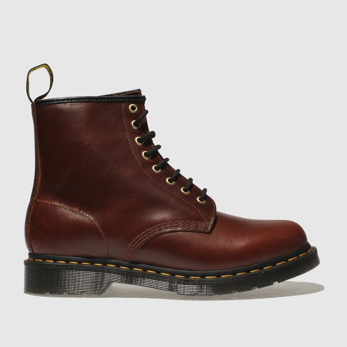 Dr Martens Brown 1460 Aqua Glide Boots