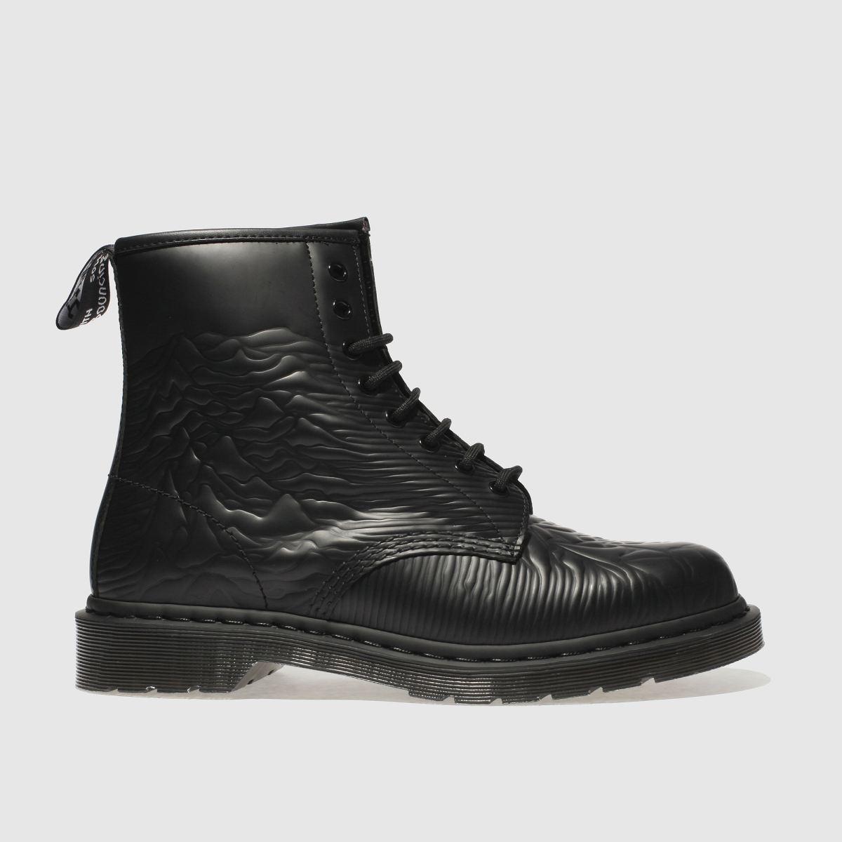 Dr Martens Black 1460 Unknown Pleasures Boots