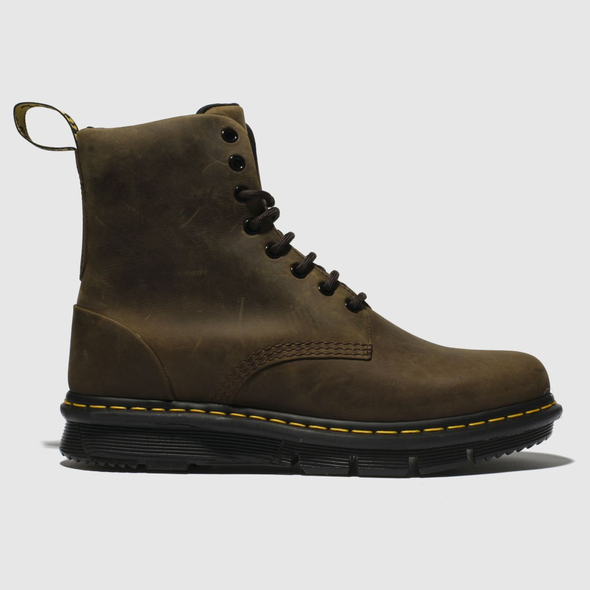 Dr Martens Brown Lexington Boots