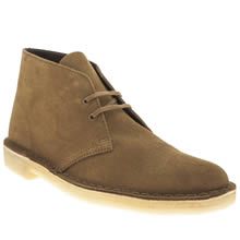 Brown Clarks Originals Desert