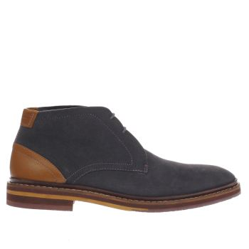 Ted Baker Grey Azzlan Mens Boots