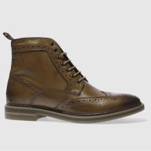 Base London Tan Hurst Mens Boots
