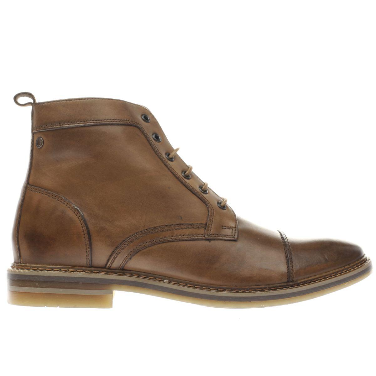base london tan hockney boots