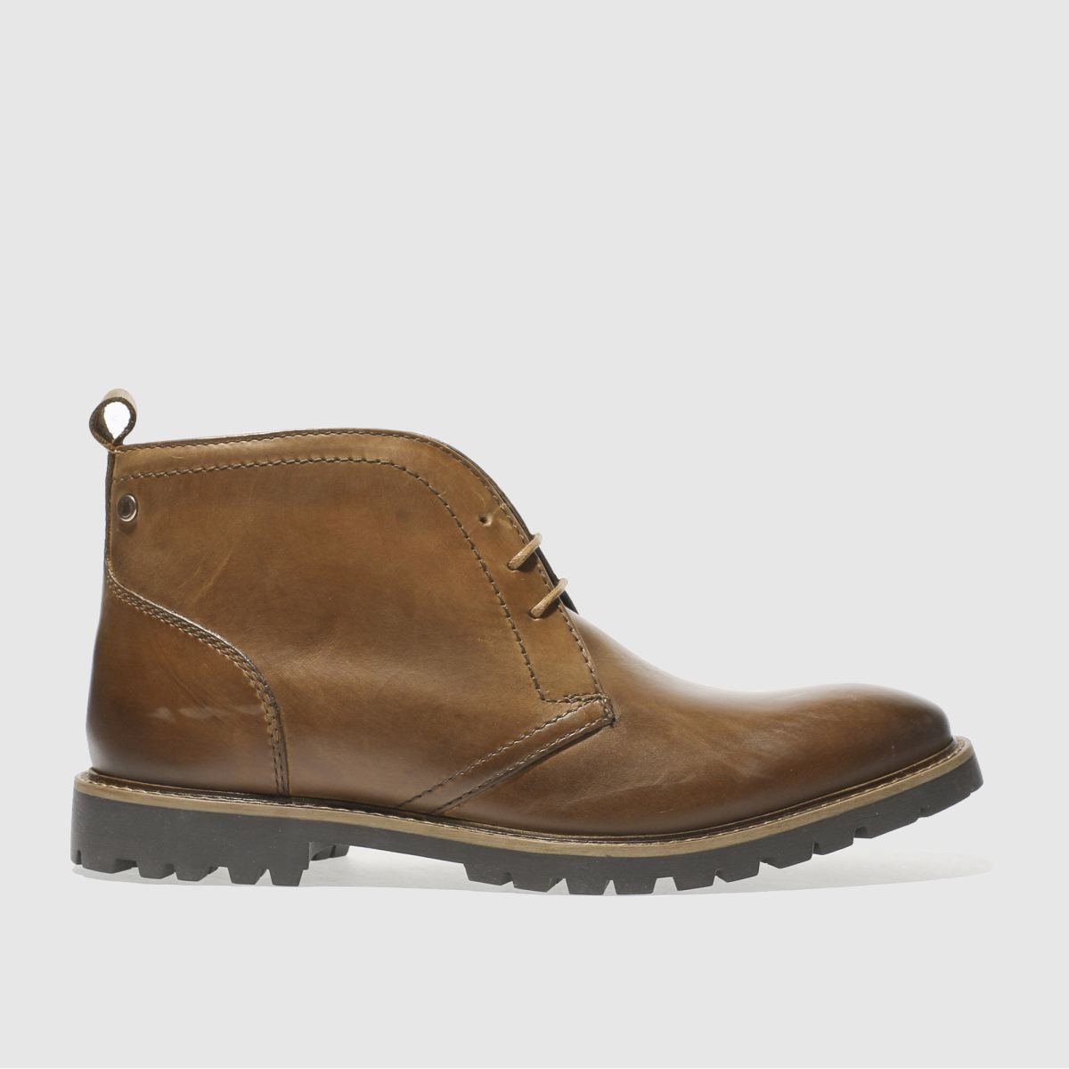 base london tan trojan boots