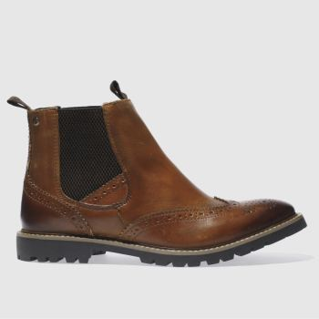 Base London Tan Base Bosworth Mens Boots