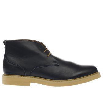 Peter Werth Navy Pegg Chukka Boots