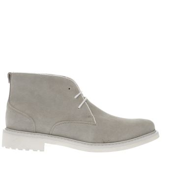 Peter Werth Light Grey Oldman Chukka Boots
