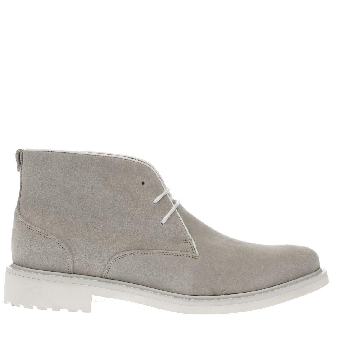 Peter Werth Peter Werth Light Grey Oldman Chukka Boots