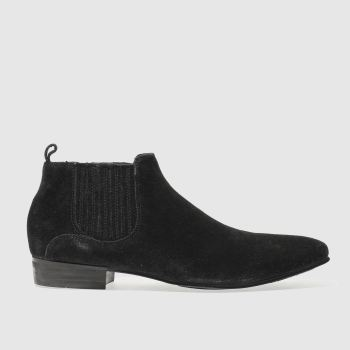 H By Hudson Black Zelus Mens Boots