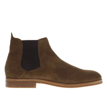 H By Hudson Tan Tonti Mens Boots