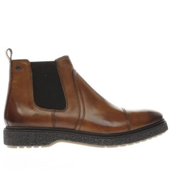 Base London Tan Zoot Mens Boots