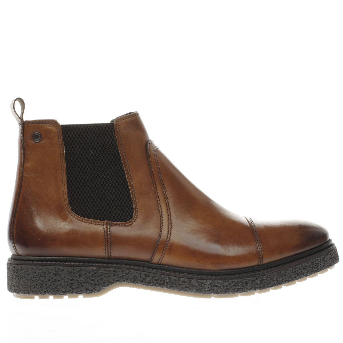 base london tan zoot boots