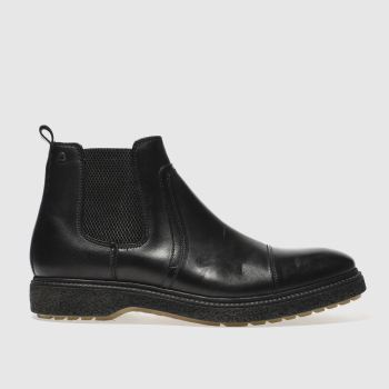 Base London Black Zoot Mens Boots