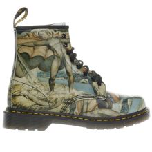 Dr Martens Black & Stone 1460 William Blake Mens Boots