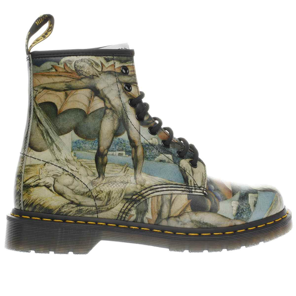 dr martens black & stone 1460 william blake boots