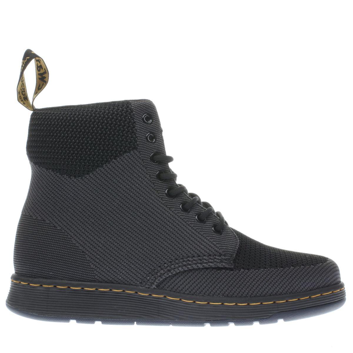dr martens black rigal boots