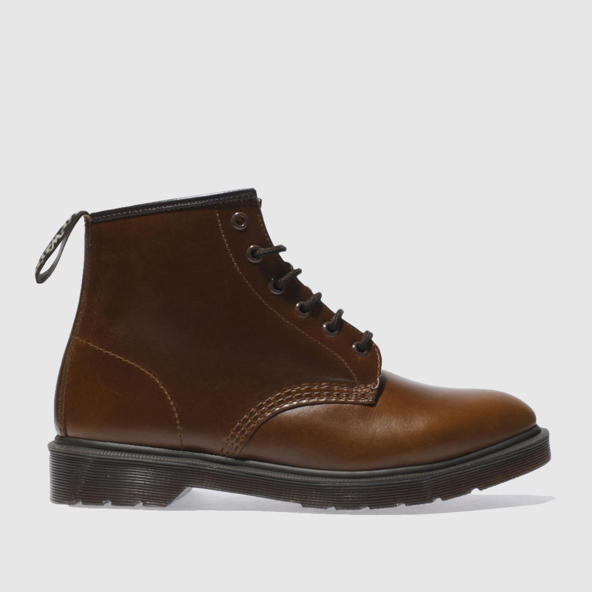 dr martens tan 101 brando 6 eye boots