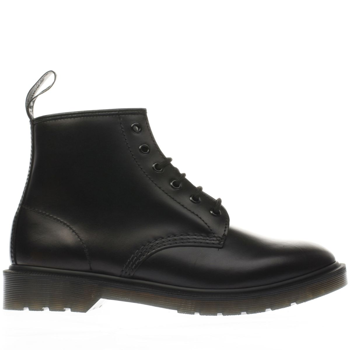 dr martens black 101 brando 6 eye boots