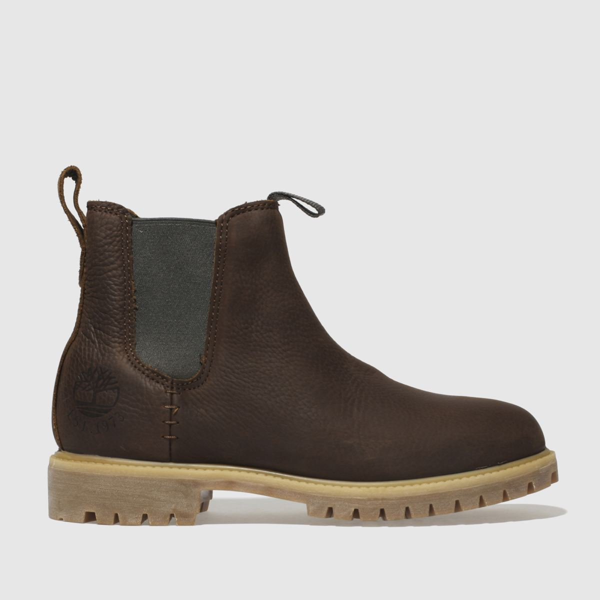 Timberland Brown Premium Chelsea Boots
