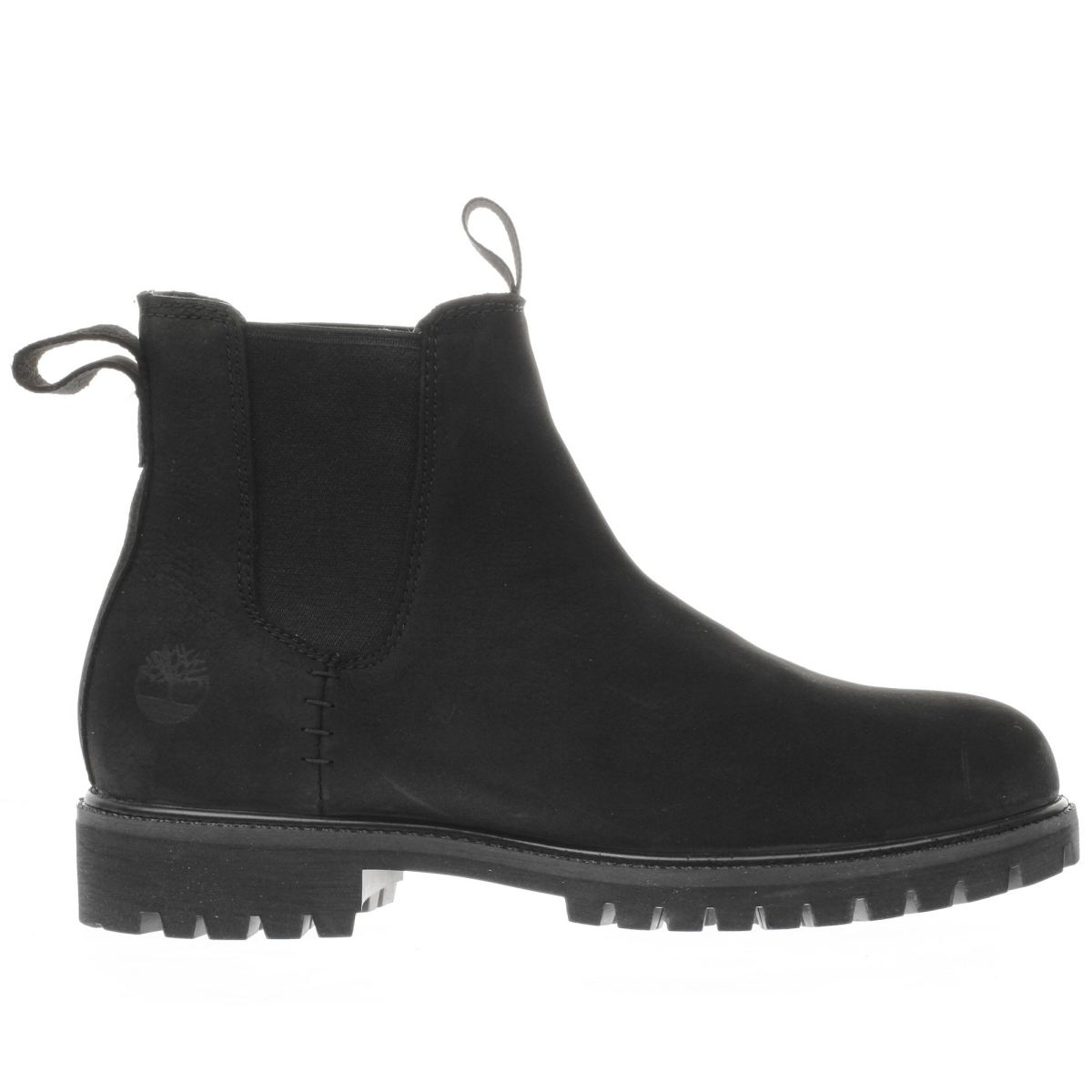 timberland black premium chelsea boots