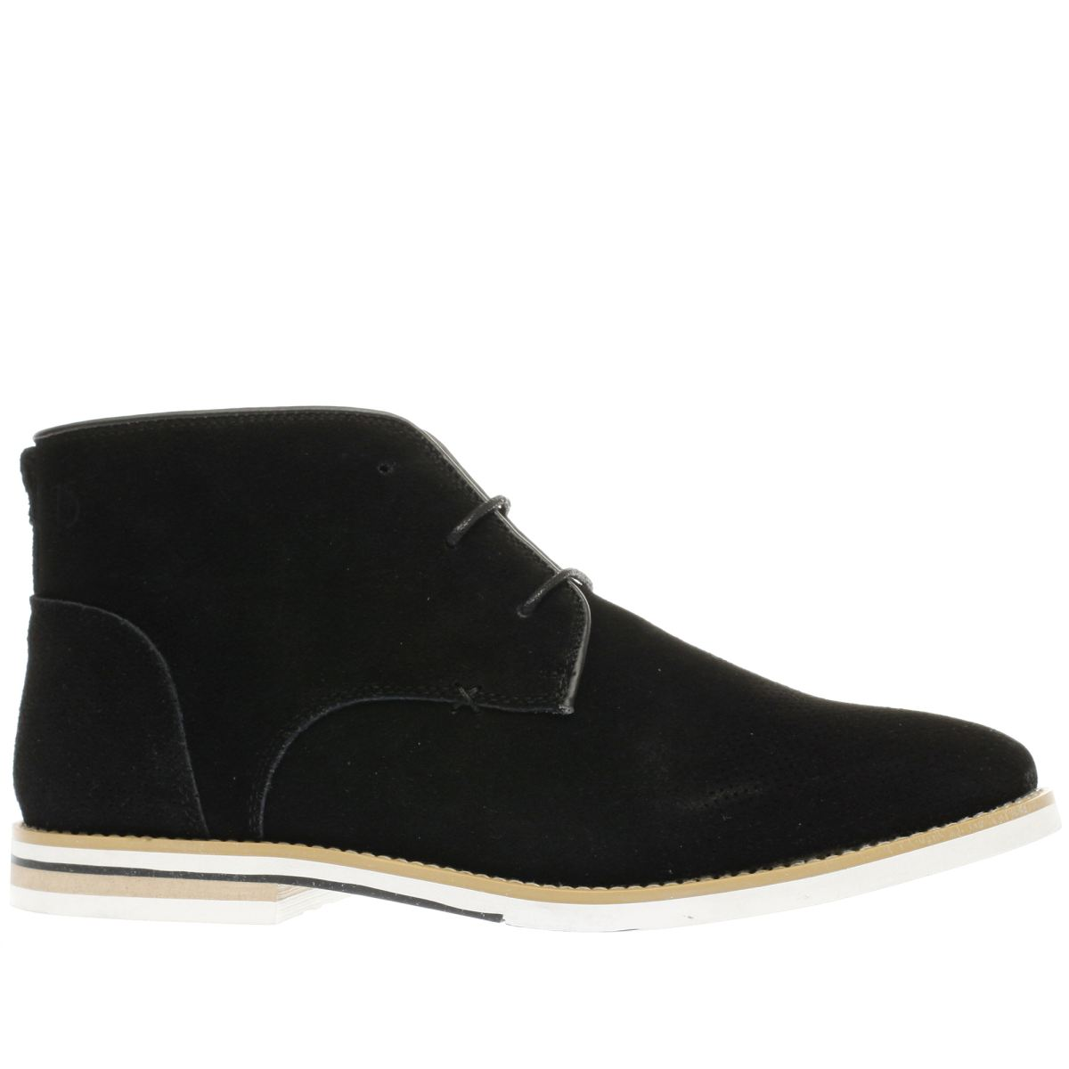 peter werth black nesbit chukka perf boots