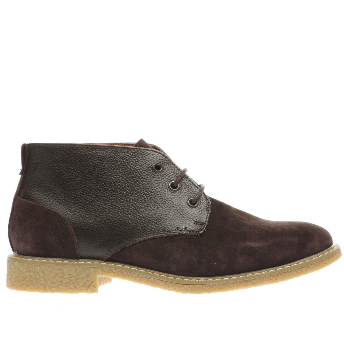 peter werth brown oldman desert mix boots