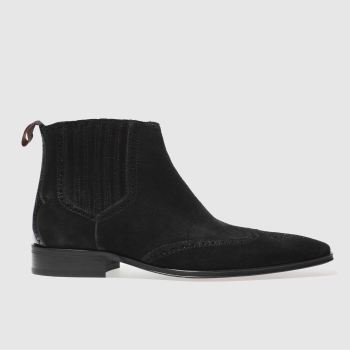 Jeffery West Black Escobar Vent Chelsea Mens Boots