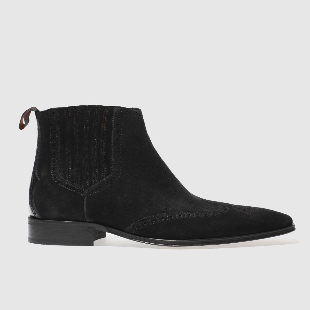 jeffery west black escobar vent chelsea boots