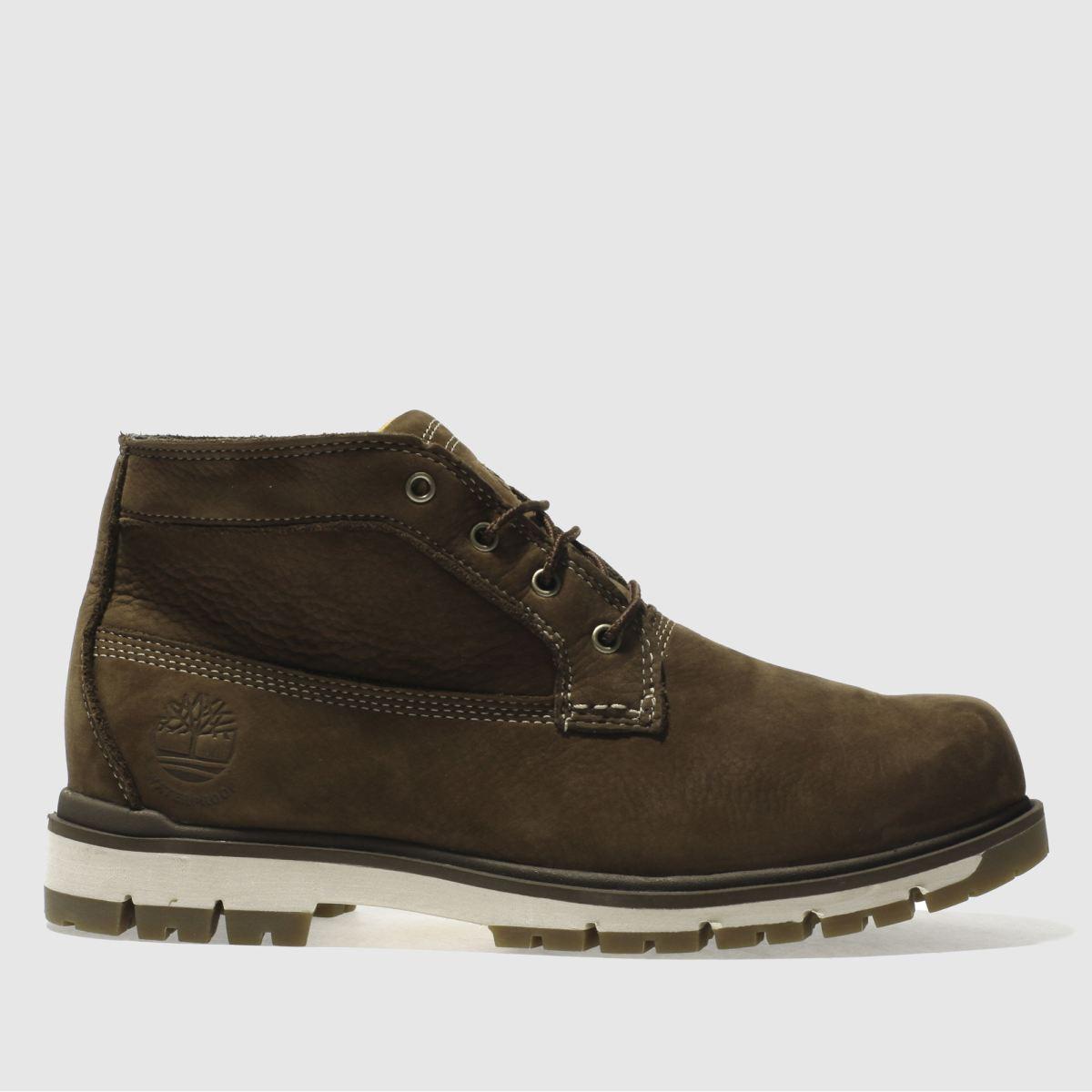 Timberland Dark Brown Radford Chukka Boots