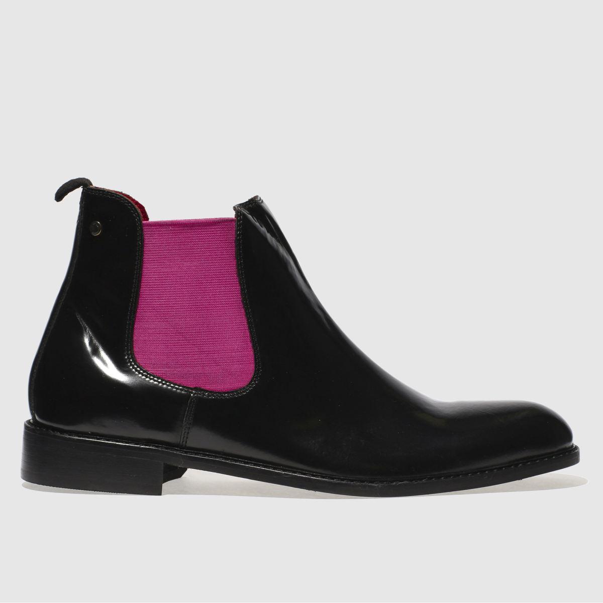 Base London Base London Black & Pink Truman Pop Boots
