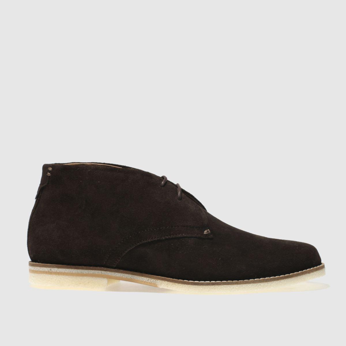 H By Hudson Brown Aldershot Boots