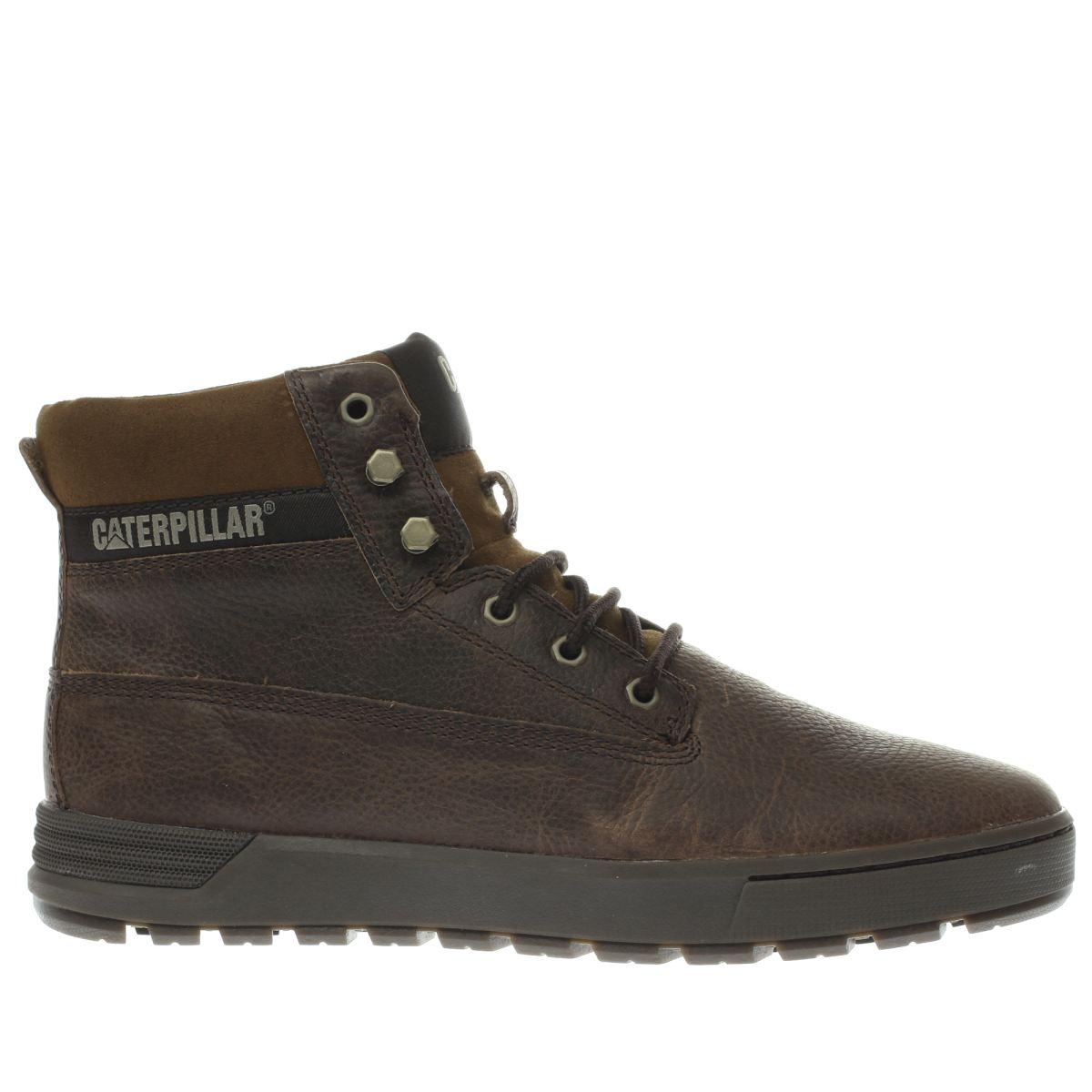 cat-footwear brown ryker boots
