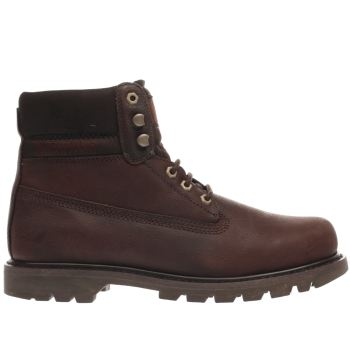 Cat-Footwear Burgundy Colorado Mens Boots