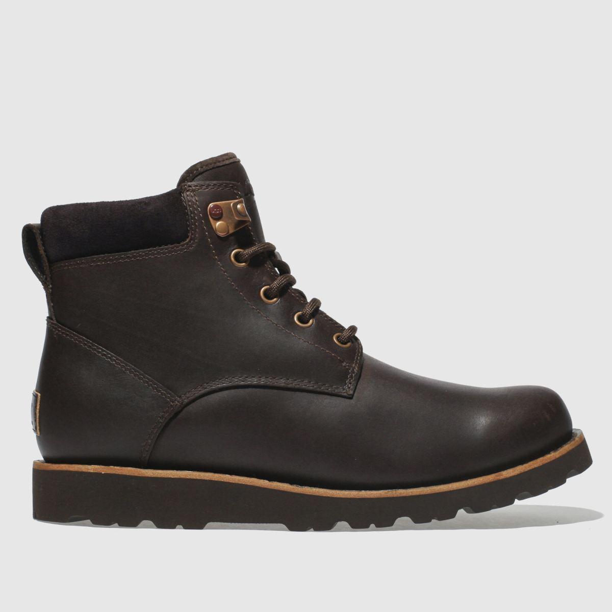 Ugg Dark Brown Seton Tall Boots
