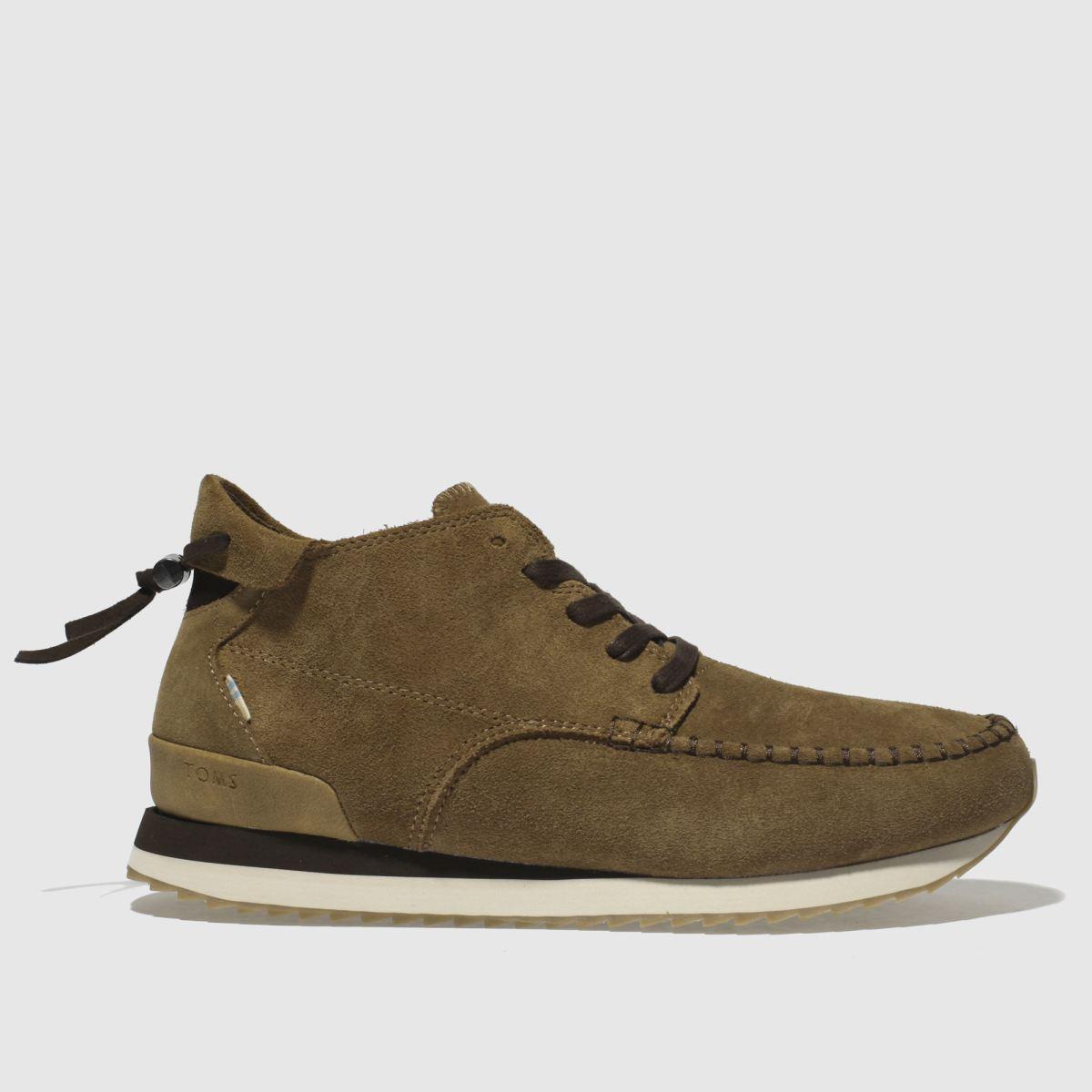 Toms Tan Balboa Mid Boots