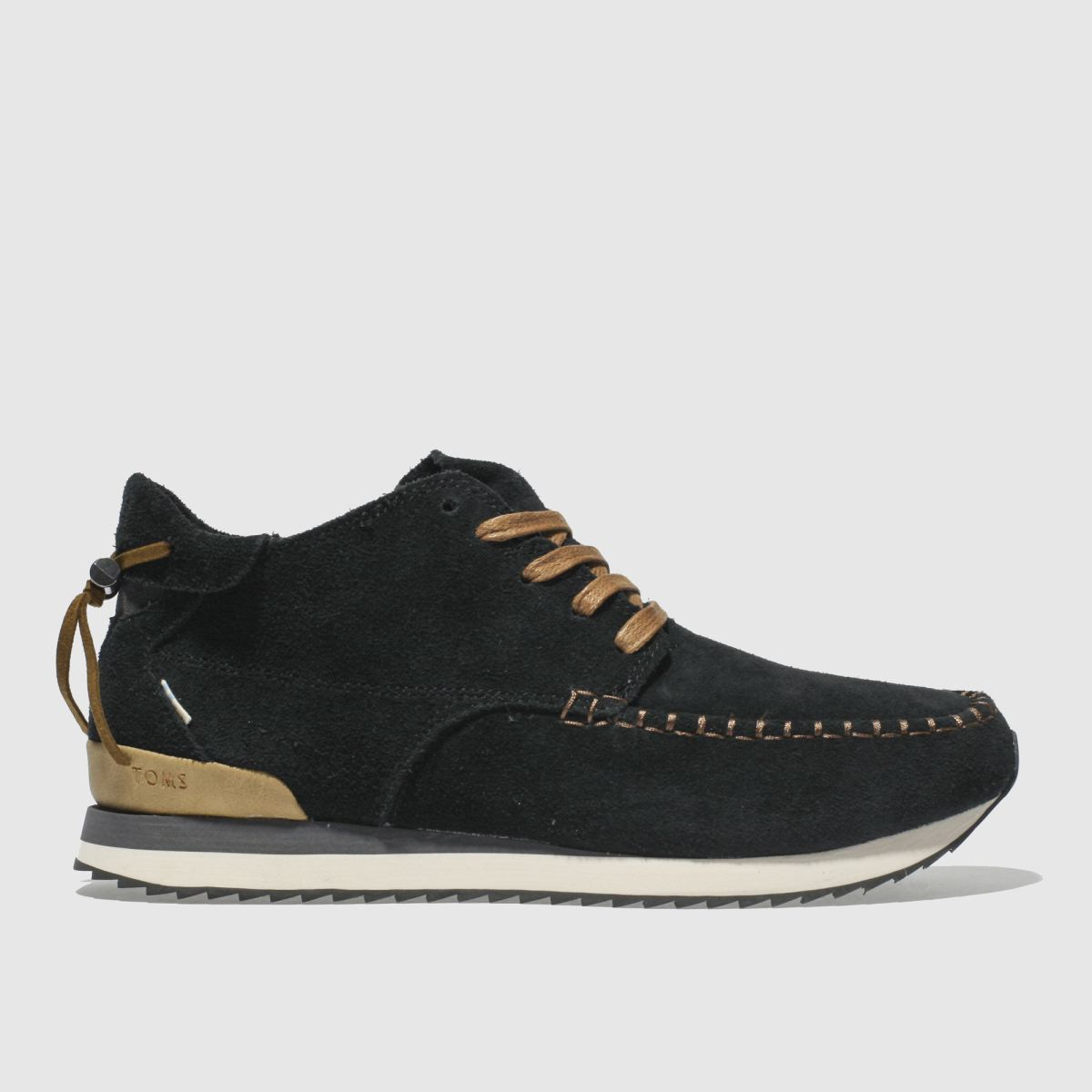 Toms Black Balboa Mid Boots