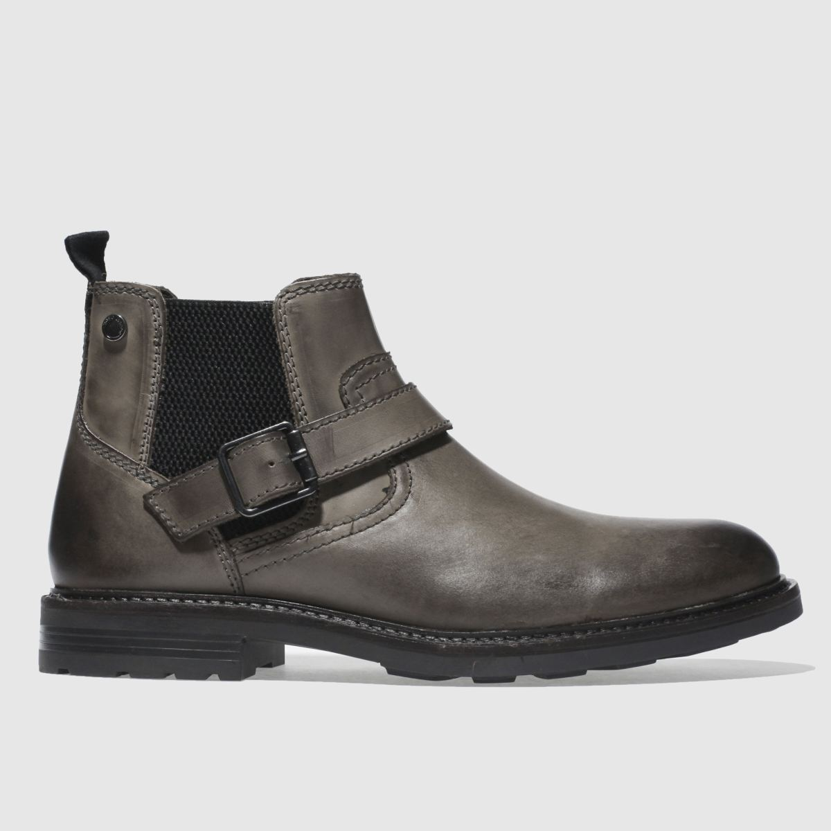 Base London Grey Morrow Boots