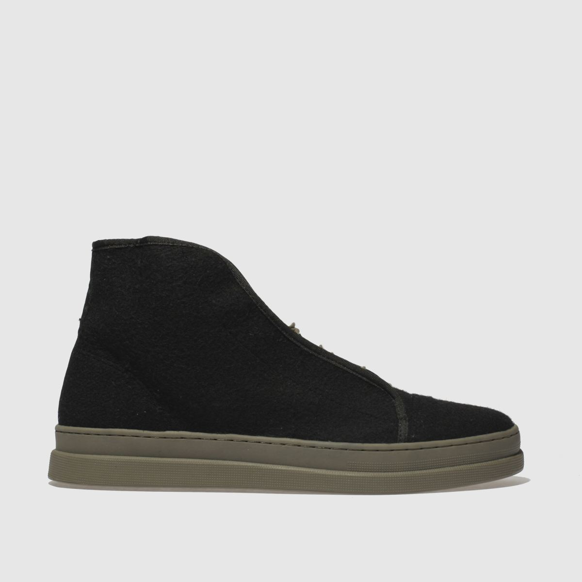 H By Hudson Black Berwick Boots