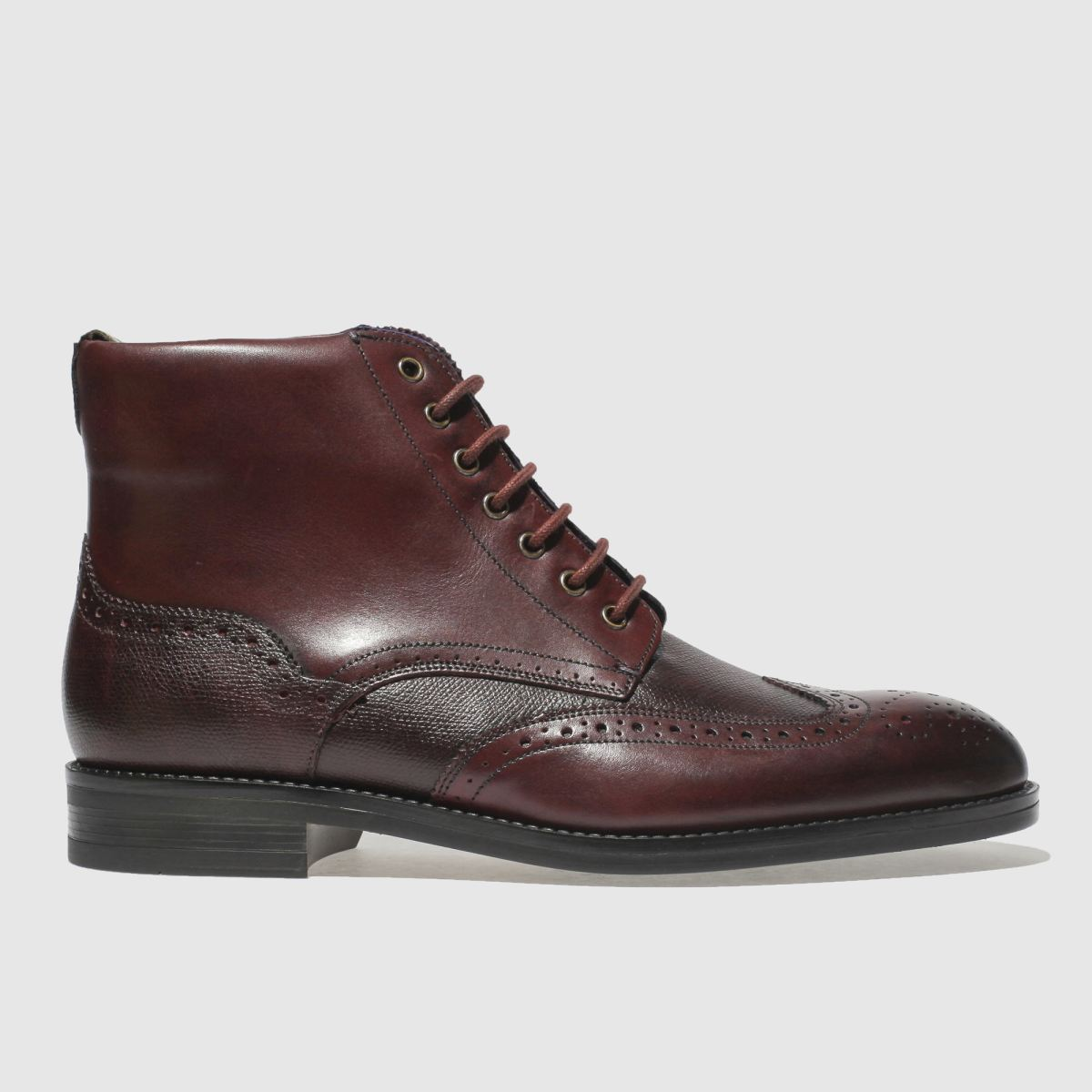 Ted Baker Burgundy Twrens Boots