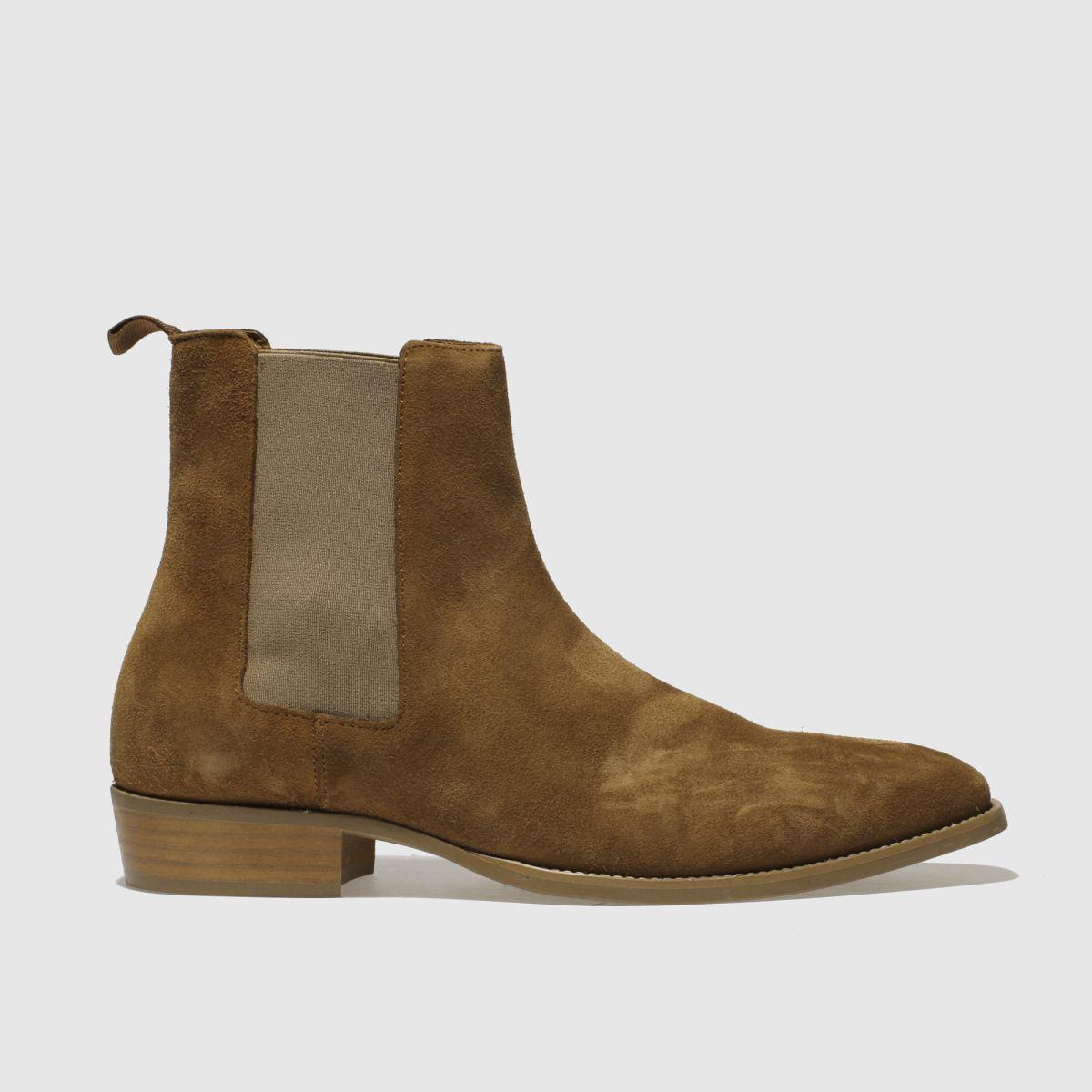 Schuh Tan Pete Chelsea Boots