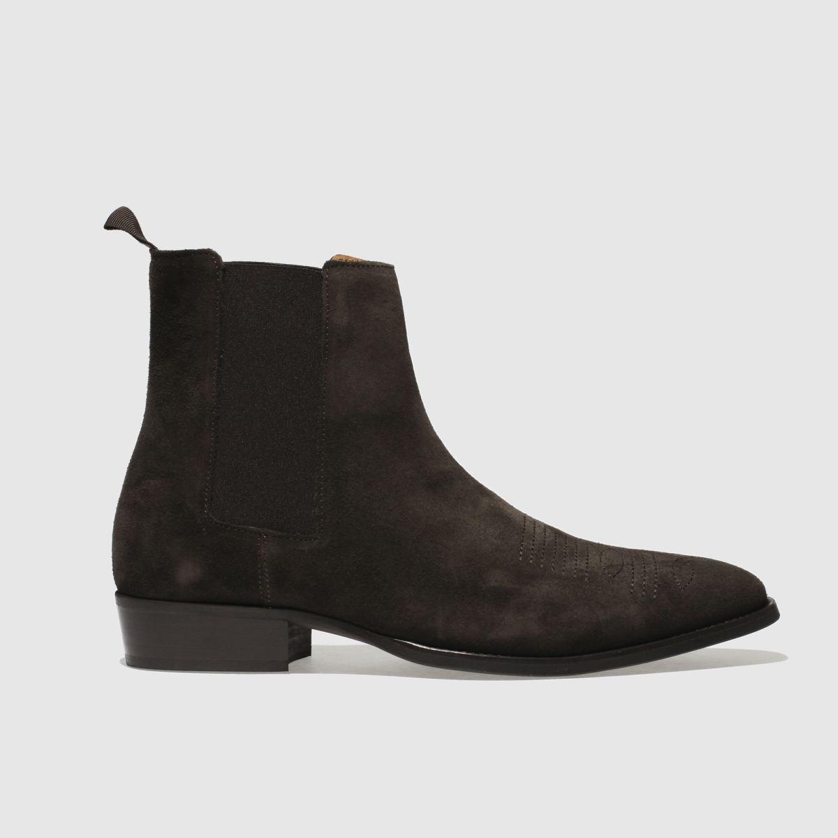 Schuh Dark Brown Pete Cowboy Boots