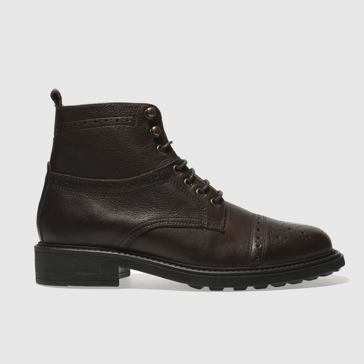 h by hudson dark brown fernie boots