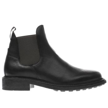 H By Hudson Black Carlson Mens Boots