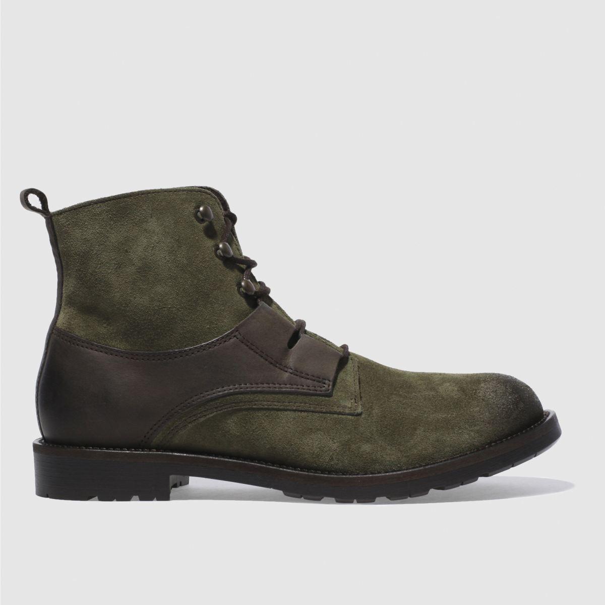 schuh khaki duke ghilli boots