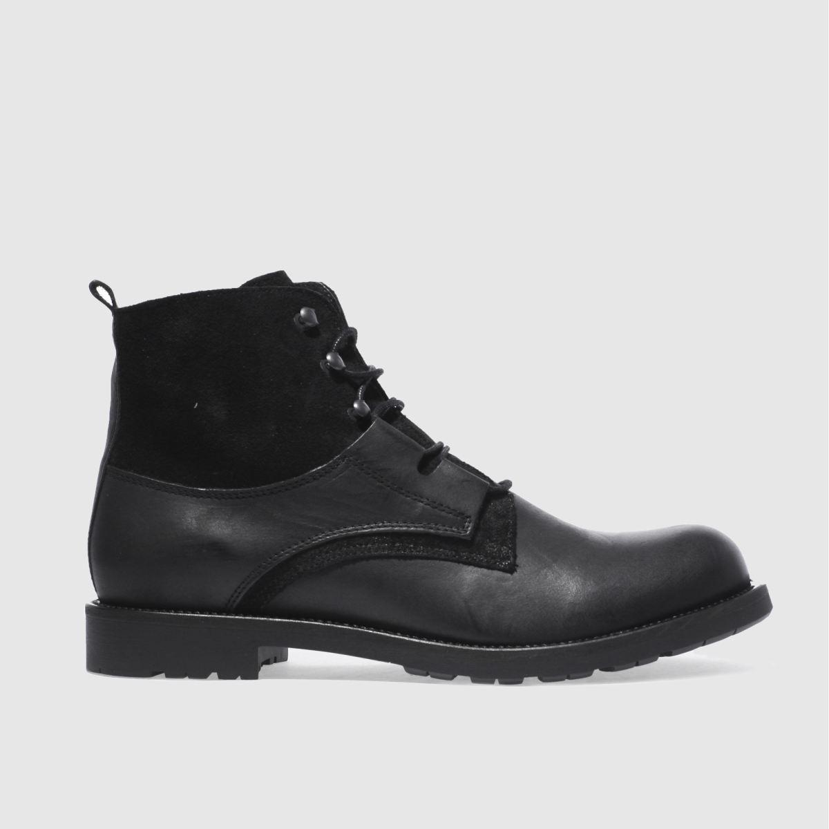 schuh black duke ghilli boots