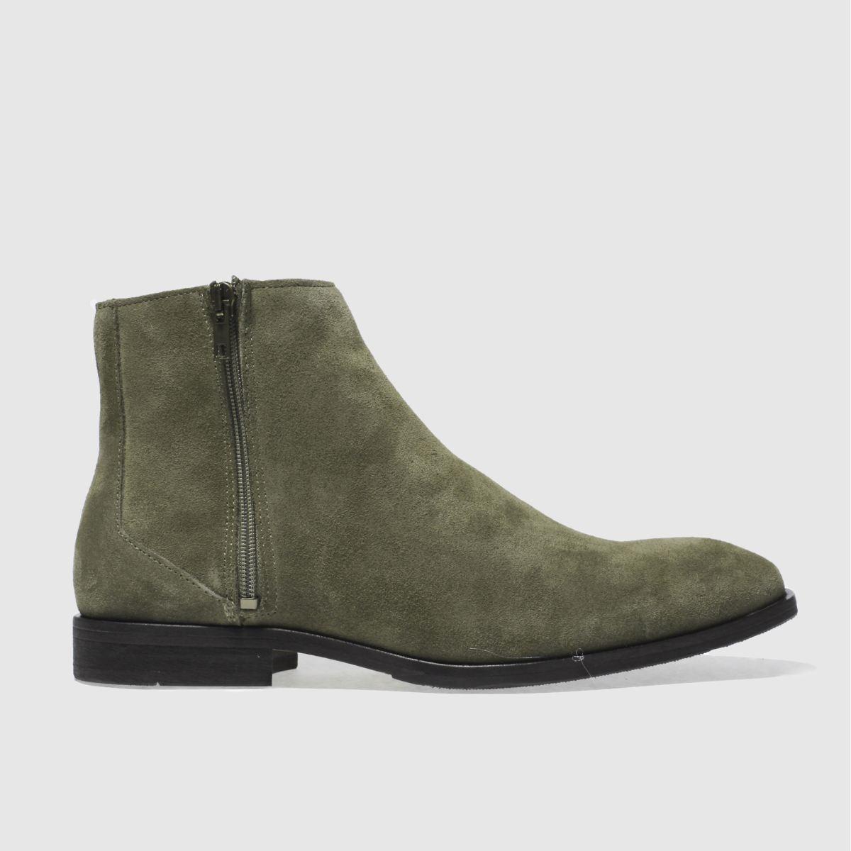 schuh khaki jack zip boots
