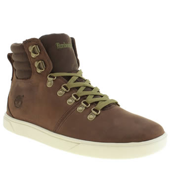 Mens Timberland Brown Groveton Alpine Hiker Boots