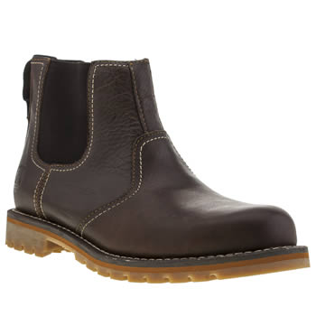 Timberland Brown Earthkeepers Larchmont Chelsea Boots