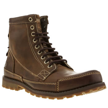 Timberland Brown Earthkeepers Original 6 Inch Boots