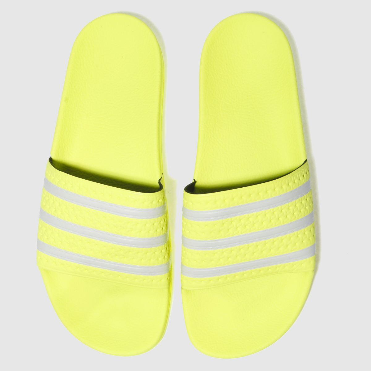 Adidas Adidas Lime Adilette Slide Sandals
